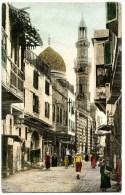 Kairo, Cairo, Street Old Cairo, Strasse, 8.9.1908, Stamp - Port Said