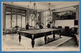 64 - SAINT JEAN DE LUZ --  Hôtel D´Angleterre - Salle De Billard - Saint Jean De Luz
