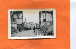 ORLEANS  WW 2  GUERRE  1939/ 1945  RUE DES CARMES  PHOTO FORMAT 12X8 CM - Lieux