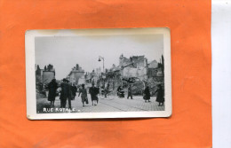ORLEANS  WW 2  GUERRE  1939/ 1945  RUE  ROYALE   PHOTO FORMAT 12X8 CM - Lieux