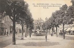 Montbéliard - Place D'Armes - Statue Du Colonel Denfert-Rochereau - Carte C.L.B. - Montbéliard