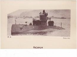 Batiment Militaire Marine Perou Sous Marin Pachoca - Boats