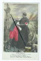 CPA -   Croix Rouge -  Militaire Soldat, Aumonier, - Croix-Rouge