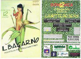 DISCOTECA IL BAGARINO,  PORTO RECANATI (MC): LA NOTTE DEI SENSI (NUDE GIRL)  - RIF. 3756 - Musik Und Musikanten