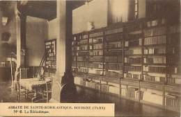 Depts Div.- Tarn - Y441 -  Dourgne - Abbaye Sainte Scholastique - St Scholastique - La Bibliotheque - Carte Bon Etat  - - Dourgne