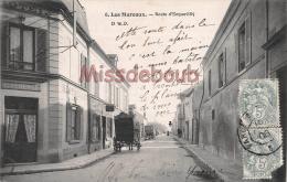 78 - LES MUREAUX - Route D´Ecquevilly  - écrite  1906    - 2 Scans - Les Mureaux