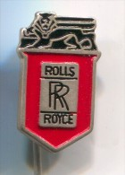 ROLLS ROYCE- Car, Auto,  Vintage Pin, Badge - Pin's & Anstecknadeln