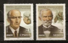 SERBIA 2014,SIENCE,JOSIF PANČIĆ,PETAR STEVANOVIĆ,BOTANIC-P ICEA OMORIKA,GEOLOGY,MNH - Serbia