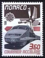 Monaco Mi. 1860 Hochgeschwindigkeitszug TGV **/MNH - Treni