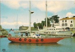 CPA-1960-17-ILE DE RE-ST MARTIN-AVANT PORT-L ILIENNE Et  YACHT-TBE - Ile De Ré