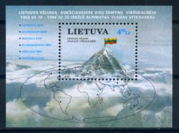 Lithuania 1997 Lituania / Mountains Mountaineering MNH Montañas Montañismo / Iw19   30-9 - Unclassified