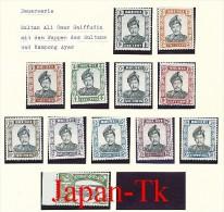 BRUNEI Mi.Nr. 96-107 W  Freimarken: Sultan Und Pfahlbauten- MNH - Brunei (1984-...)