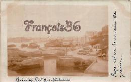 (64) Biarritz - Carte Photo - Port Des Pêcheurs - En état - 2 SCANS - Biarritz