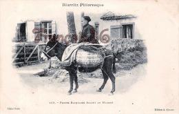 (64) Biarritz - Femme Basquaise Allant Au Marché - Cliché Frois Edit. A. Simons - Légères Tâches - 2 SCANS - Biarritz