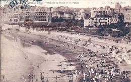 (64) Biarritz - Eglise Russe, Villas De La Plage Et Le Palais - Trés Bon état - 2 SCANS - Biarritz