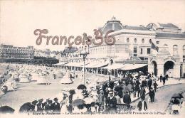 (64) Biarritz - Le Casino Municipal - L'Hôtel Du Palais Le Promenoir De La Plage - Excellent état - 2 SCANS - Biarritz