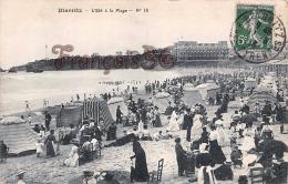 (64) Biarritz - L'Eté à La Plage - Trés Bon état - 2 SCANS - Biarritz