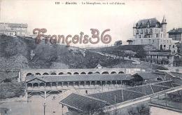 (64) Biarritz - Le Sémaphore, Vu à Vol D'oiseau - Trés Bon état - 2 SCANS - Biarritz