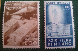 1951 Fiera Di Milano 2 Valori MNH - 1946-60: Neufs