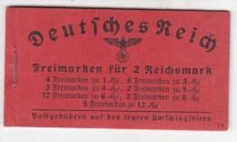 Deutsches Reich - Deckelseite 085 MH Auflage 39.4 ** - Se-Tenant