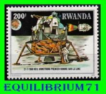 968** 10e Anniversaire De La Conquête De La Lune / 10e Verjaring Van De Maanverkenning - RWANDA - Rwanda