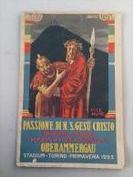 MAUZAN - PASSIONE DI N.S.GESU' CRISTO - DRAMMA SACRO- TORINO 1923 - Libri, Riviste, Fumetti