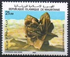 MAURITANIE  Mineraux, Fossiles, Yvert N° 513C  ** MNH, Neuf Sans Charniere - Minéraux