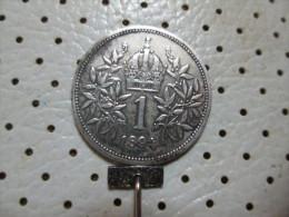 AUSTRIA  1 Corona 1893  4.96 G - Austria