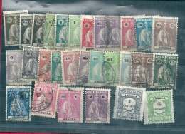 Portuguese Colonies: Angola 1914 Mixed Lot - Stamps
