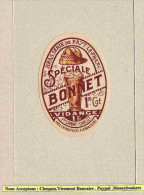 Etiquette De Biere Ancienne : Medaillon Brasserie De FAYT LE FRANC   BONNET - Bière