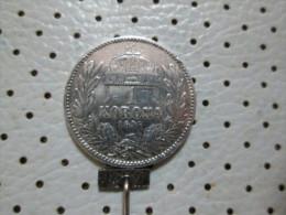 HUNGARY  1 Corona 1895  4.95 G - Hungary