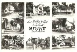 Cp, 62, Le Touquet, Ses Belles Villas De La Forêt, Multi-Vues - Le Touquet