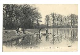 Cp, 92, Forêt De Meudon, La Pêche à L'Etang Des Fonceaux - Meudon