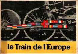 18 Pays De L'OECE - Le Train De L'Europe, Drapeaux - Events