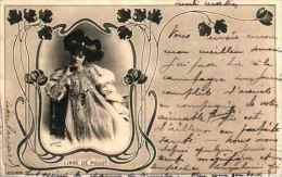 Artiste Femme 1900 - Liane De Pougy (reulinger) - Cabarets