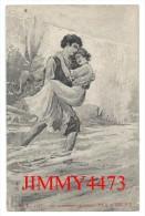 CPA N° G. L. 3088 -  Les Amoureux Célèbres - PAUL Et VIRGINIE - Scans Recto-Verso - Historische Persönlichkeiten