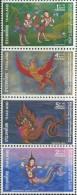 TH0856 Thailand 1976 Hydra Folk Tales 4v MNH - Thailand