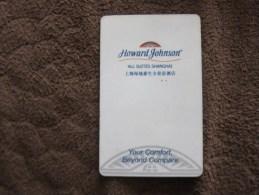 Howard Johnson All Suites,Shanghai, Edge With A Little Damaged - Hotel Keycards