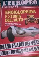 EUROPEO N. 5 1/2/68 FALLACI: SAIGON/ MILVA/ SINATRA/ SOCIETA' ITALIANA RESINE - Libri, Riviste, Fumetti