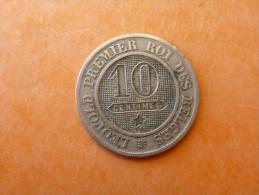 10 CENTIMES LEOPOLD 1862 - 1831-1865: Léopold I