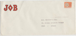Enveloppe Publicitaire JOB (scan Recto-verso) - Documents