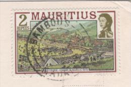 ILE MAURICE , MAURITIUS - CHAMPS DE MARS, RACE COURSE - SUR CARTE POUR SAINT MALO FRANCE - PISCINE DU MERIDIEN - A VOIR - Maurice (1968-...)