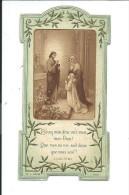 IMAGES RELIGIEUSES , Souvenir De Ma Première Communion Solennel - Images Religieuses