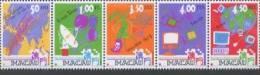1999 Macau/Macao Stamps - Telecommunication Computer Satellite TV Music Map Cell Phone Telecom - 1999-... Chinese Admnistrative Region