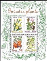 South Africa Ciskei 1993 Invader Plants Stamps S/s Plant Flower - Ciskei