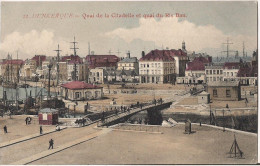 DUNKERQUE QUAI DE LA CITADELLE ET QUAI DE RIS BAN CPA NO 22 - Dunkerque