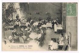 La Terrasse De L'HOTEL De PARIS    CHATEL-GUYON - Châtel-Guyon