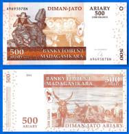 Madagascar 500 Ariary 2004 Neuf UNC 2500 Francs Africa Que Prix + Port Paypal Skrill Bitcoin - Madagascar