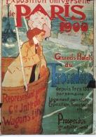 Paris 1900 Exposition Universelle Grands Hotels Du Trocadero (représentant Wagons Lits) Tourisme N°15 Ed Nugeron - Publicité