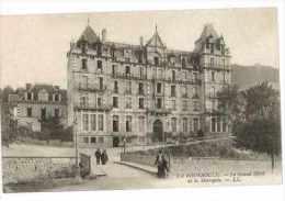 CPA 63 LA BOURBOULE LE GRAND HOTEL DE LA METROPOLE - La Bourboule